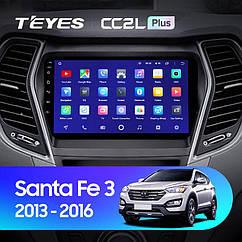 Штатная магнитола Teyes Hyundai Santa Fe (2013-2016) Android