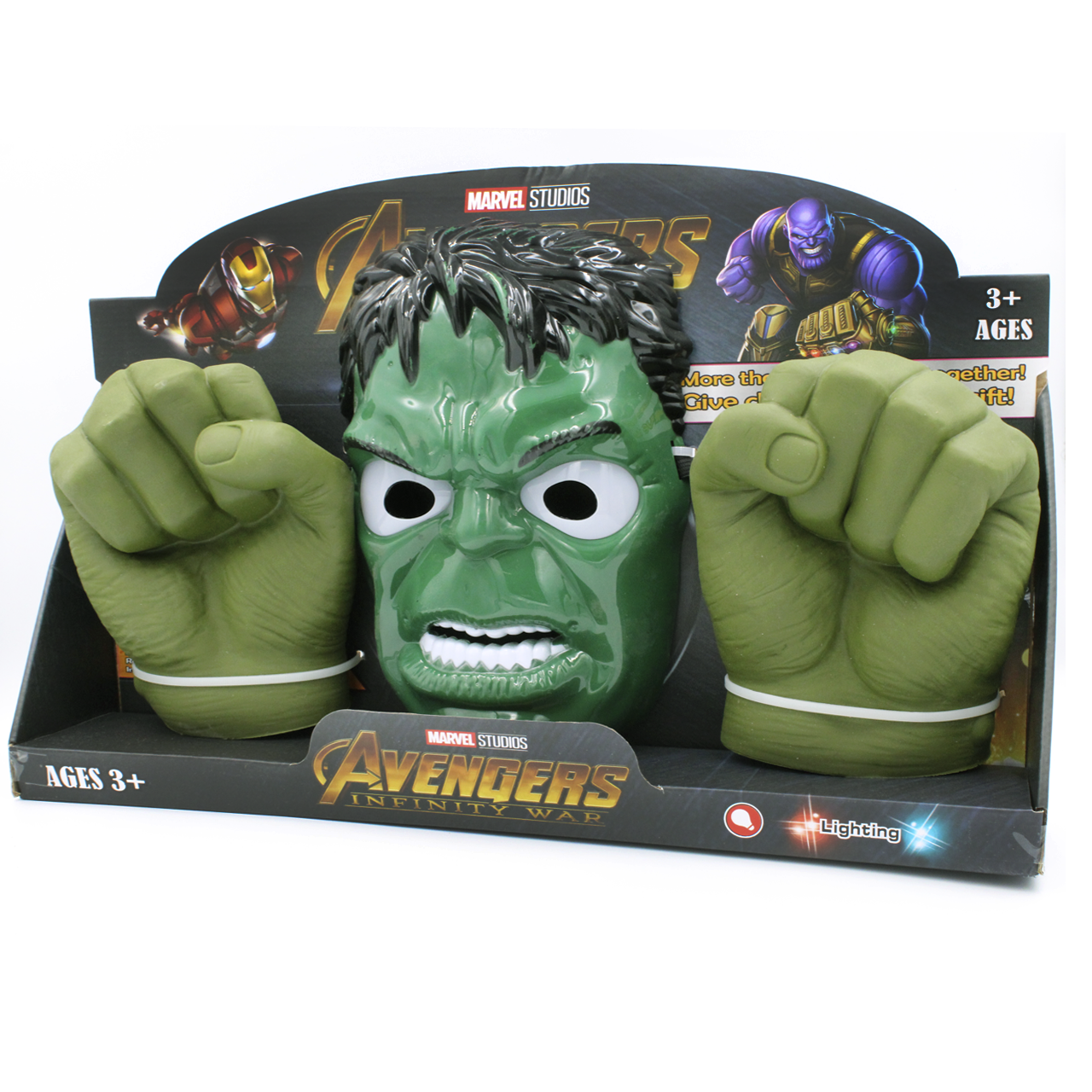 """Игровой набор Марвел / Avengers """"Халк"""" (маска и перчатки) Halk"""