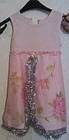 Прокат платья для девочки 2-3-4 лет очень нежное,  снежинка