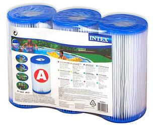 Intex 29003, картриджі тип A, для фільтра (3шт)
