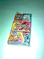 Японские сухие салфетки 60 шт (персонажи аниме)