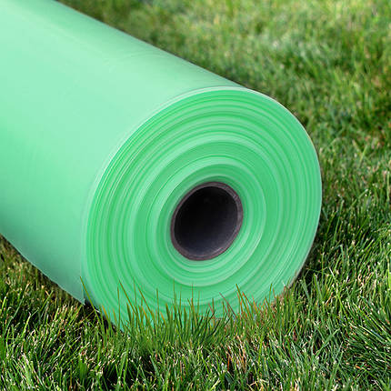 Однослойная тепличная пленка зеленая Гринс 100 мкм 6х50 м (стабилизация 12 месяцев), фото 2