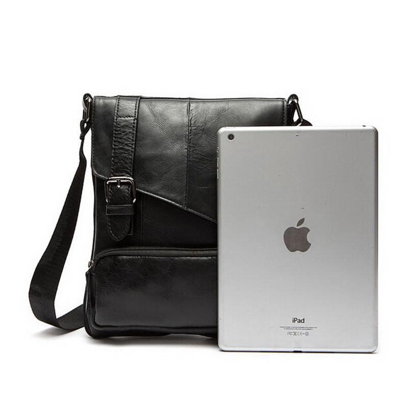 Мужская кожаная сумка. Модель 0422