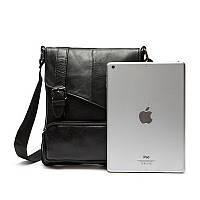 Мужская кожаная сумка. Модель 0422, фото 1