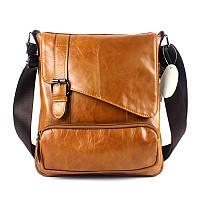 Мужская кожаная сумка. Модель 0422, фото 2