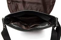Мужская кожаная сумка. Модель 0422, фото 7