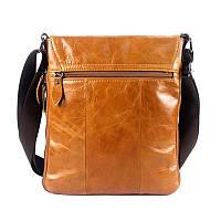 Мужская кожаная сумка. Модель 0422, фото 3