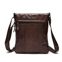Мужская кожаная сумка. Модель 0422, фото 9