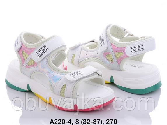 Летняя обувь оптом Босоножки  для девочки от производителя MLV (рр 32-37), фото 2