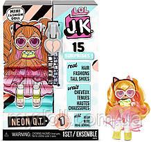 Лялька ЛОЛ ДжейКей Леді Неон міні - L. O. L. Surprise! JK Neon Q. T. Mini Fashion Doll 570776