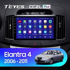 Штатная магнитола Teyes Hyundai Elantra 4   (2006-2011) Android