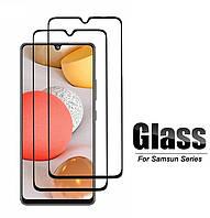 Защитное стекло с рамкой для Samsung Galaxy A02s