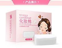 Бавовняні серветки для зняття макіяжу і очищення обличчя Bioaqua Cotton Puff, 200шт