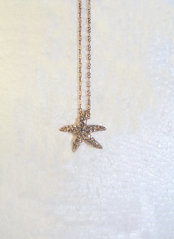 Кольє - ланцюжок з підвіскою Морська зірка