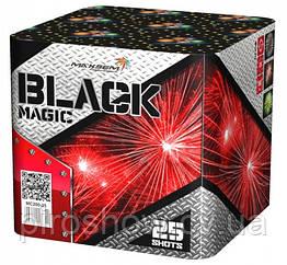 Салютная установка BLACK MAGIC 25 выстрелов 50 калибр | Салют MC200-25 Maxsem