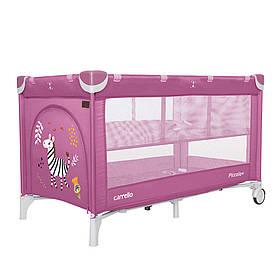 Манеж-ліжко 2в1 Carrello Piccolo+ CRL-9201, Orchid Purple
