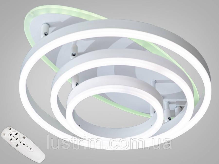 Потолочная светодиодная люстра с диммером 85W