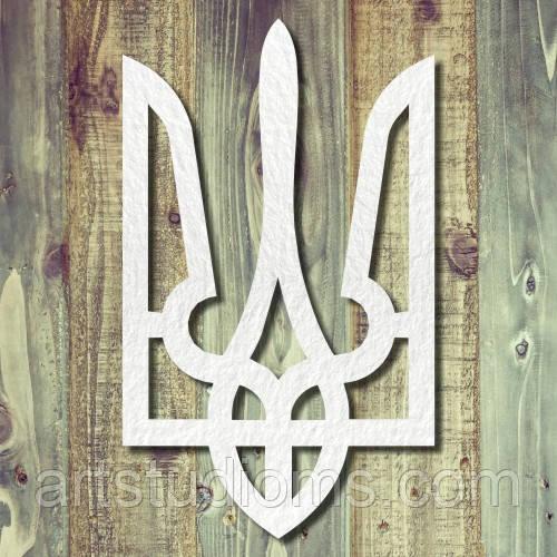 Чипборд герб тризуб тиснення