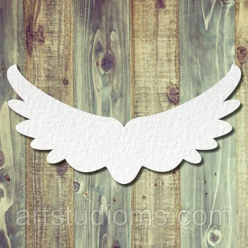 Чипборд крылья большие тиснение