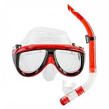Набор для плавания Dolvor М213-1+SN52, маска трубка, фото 2