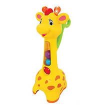 Развивающая игрушка каталка Аккуратный жираф