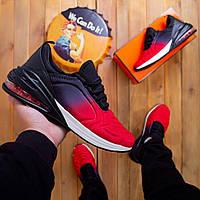 Мужские кроссовки красный с черным (Red-black). 41, 42, 44, 45, 46.