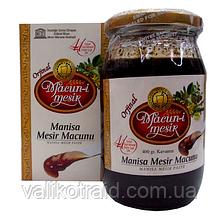 Паста для повышения либидо из  трав Macun-i Mesir Manisa Mesir Paste  400 гр  Турция