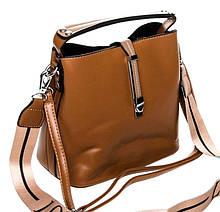 Красивая женская сумка. Женская сумочка через плечо. Женский кожаный портфель. С210