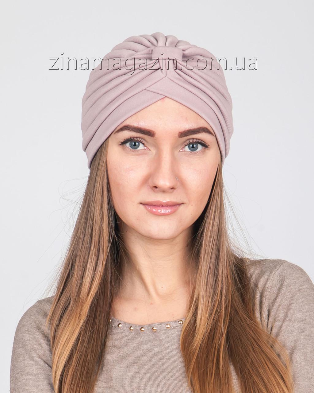 Чалма бледно-розовая