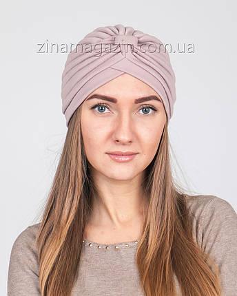 Чалма бледно-розовая, фото 2