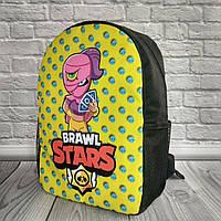 Рюкзак детский, рюкзак школьный, для школьника, Brawl Stars Tara Бравл старс Тара В*Ш*Г - 36см*24см*13см