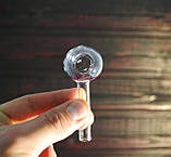 Скляна трубка для куріння Oil Mini Ball XL, фото 2