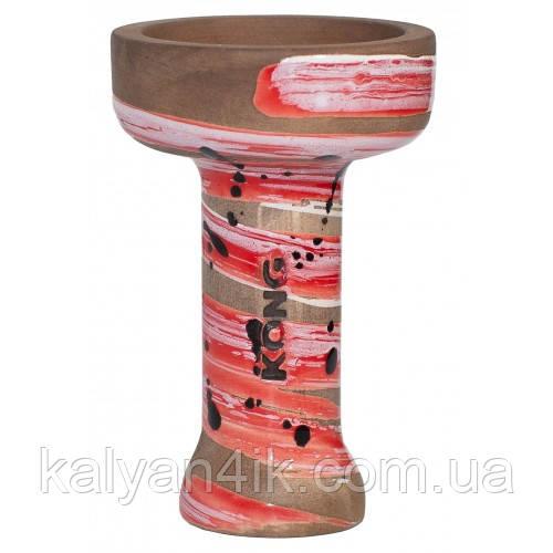 Чаша KONG Phunnel Glaze Space Red