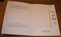 Папки с логотипом цельновысечные