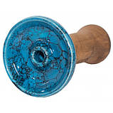 Чаша Хмара Phunnel M Glaze top Блакитний мармур ч., фото 2