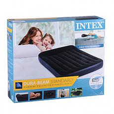 Надувной матрас Intex 64142, 191-137-25см, фото 3
