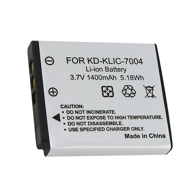 Аккумулятор для фотоаппарата Kodak KLIC-7004 / Pentax D-Li68 / Fujifilm NP-50 (1200 - 1400 mAh)