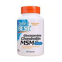 Глюкозамин & Хондроитин & МСМ OptiMSM Doctor's Best 240 капсул