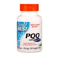 Пирролохинолинхинон PQQ 20 мг Doctor's s Best 30 капсул вегетаріанських