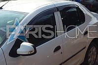 Ветровики на Окна Dacia Logan с 2013 г.в. (Седан)