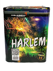 Салютная установка HARLEM 25 выстрелов 30 калибр | Фейерверк MC100
