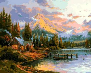 Картины по номерам 40×50 см Mariposa Удивительный мир Томаса Кинкейда (Q 2250)