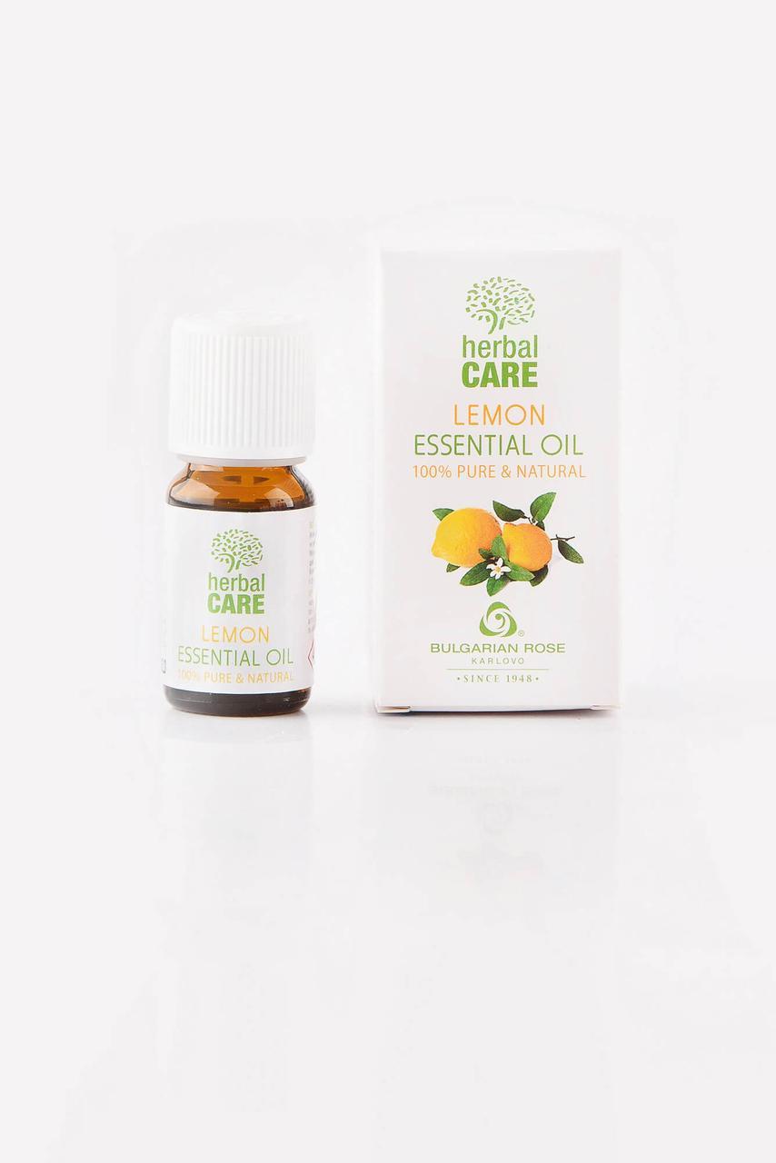 """BULGARIAN ROSE Herbal Care Essential LEMON OIL Ефірна олія """"Лимон"""""""