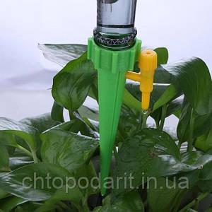 Автоматичний крапельний полив для рослин набір з 12 шт Код 10-0006