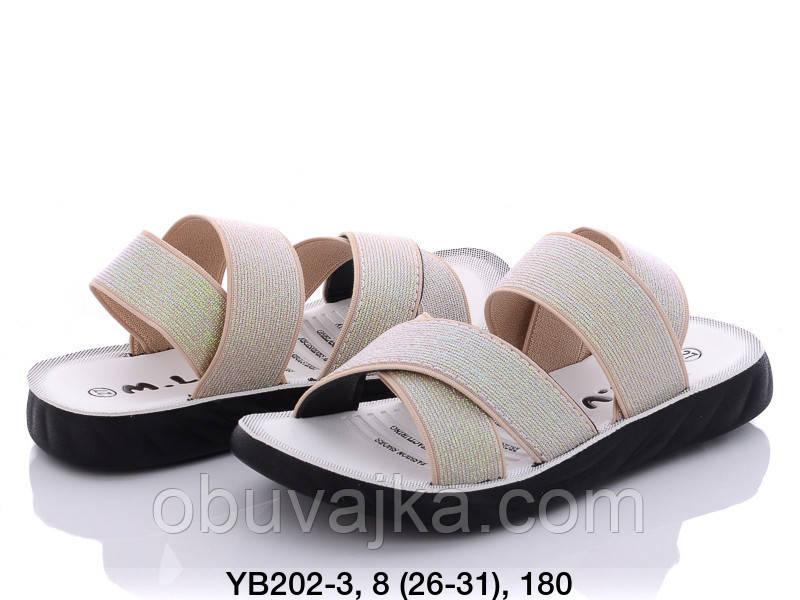 Летняя обувь оптом Босоножки  для девочки от производителя MLV (рр 26-31)