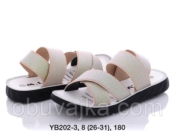 Летняя обувь оптом Босоножки  для девочки от производителя MLV (рр 26-31), фото 2