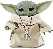 Интерактивная игрушка малыш Йода 19 см Hasbro Star Wars Mandalorian The Child Animatronic Edition