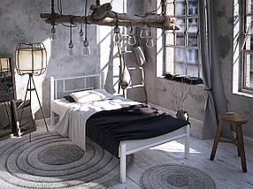 Кровать металическая односпальная  Амис мини Тенеро / Tenero, фото 3
