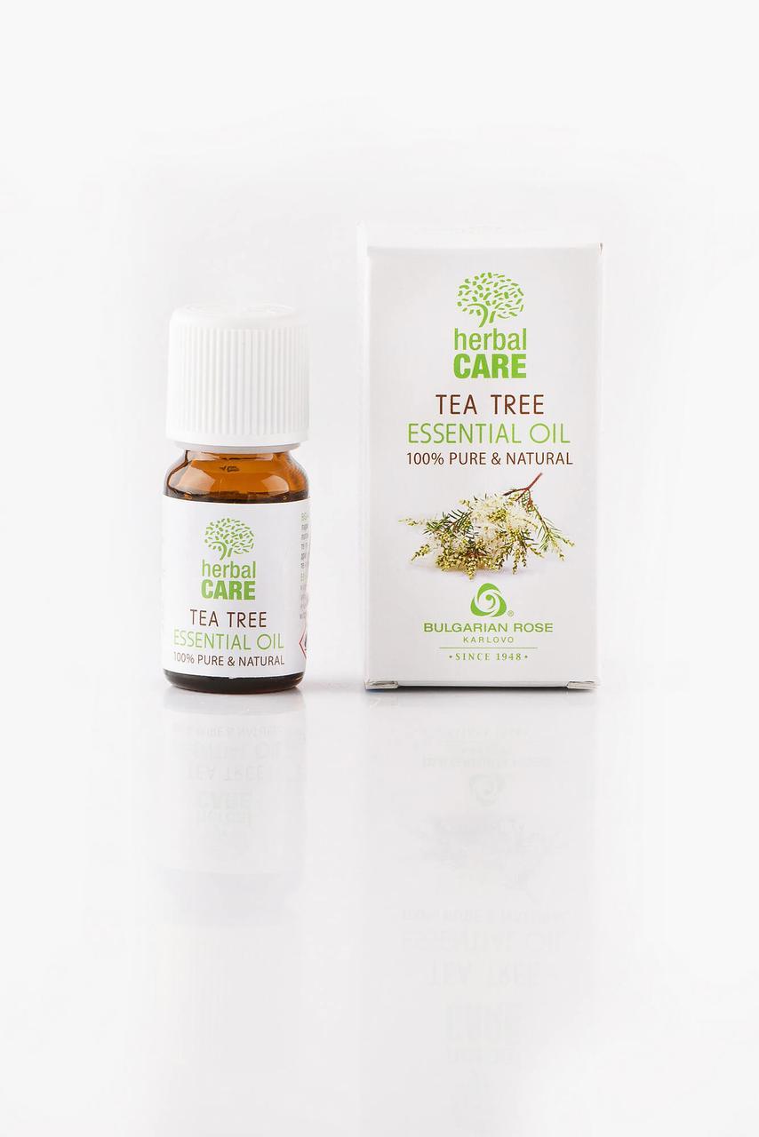 "BULGARIAN ROSE Herbal Care Essentia TEA TREE OIL Ефірна олія ""Чайне дерево"""