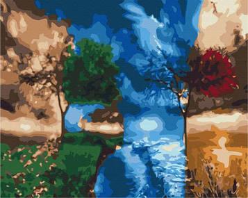 Картины по номерам 40х50 см Brushme Времена года BS 26007)